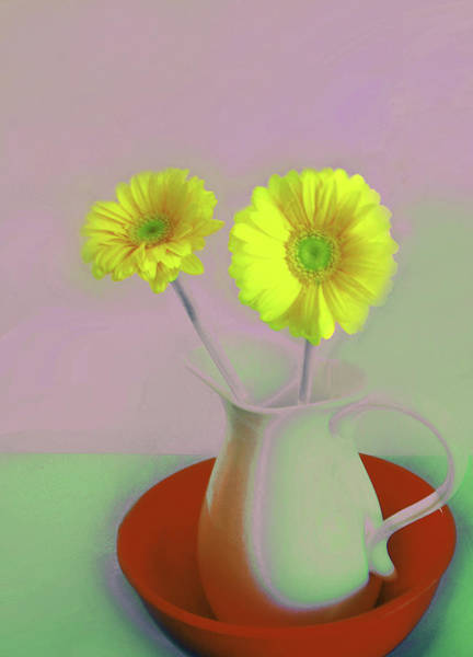 Digital Art - Floral Art 407 by Miss Pet Sitter