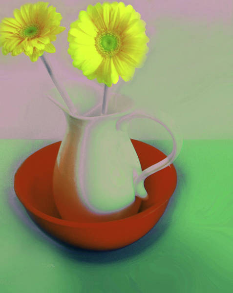 Digital Art - Floral Art 408 by Miss Pet Sitter