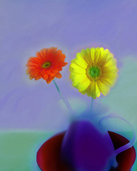 Digital Art - Floral Art 409 by Miss Pet Sitter