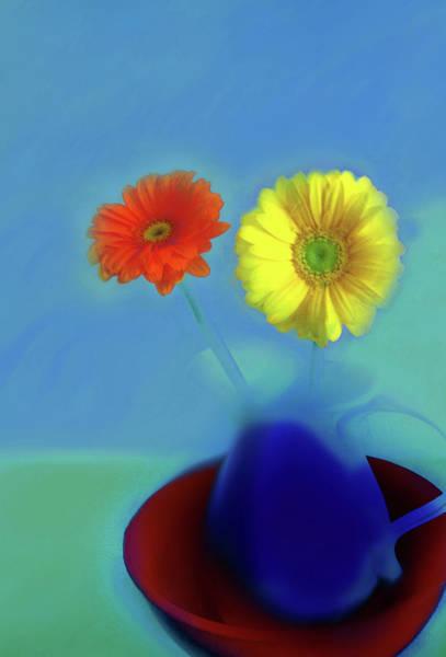 Digital Art - Floral Art 410 by Miss Pet Sitter