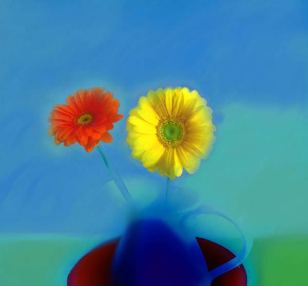 Digital Art - Floral Art 411 by Miss Pet Sitter