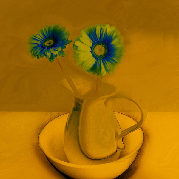 Digital Art - Floral Art 413 by Miss Pet Sitter