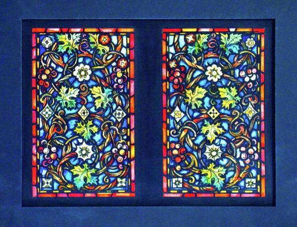 Digital Art - Floral Blue by Rick Wicker