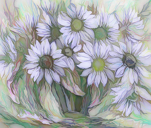 Photograph - Floral Decor By Olena Art by OLena Art - Lena Owens