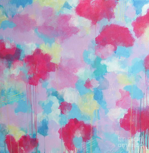 Wall Art - Painting - Floral Delight by Kate Marion Lapierre