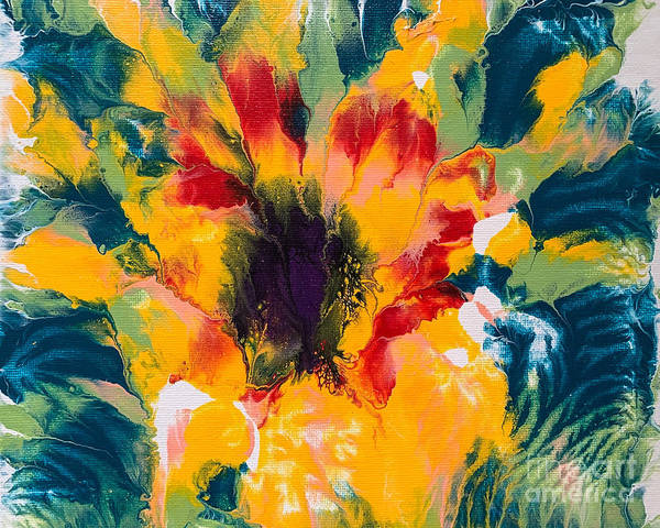 Painting - Floral Flourish 3 by Lon Chaffin