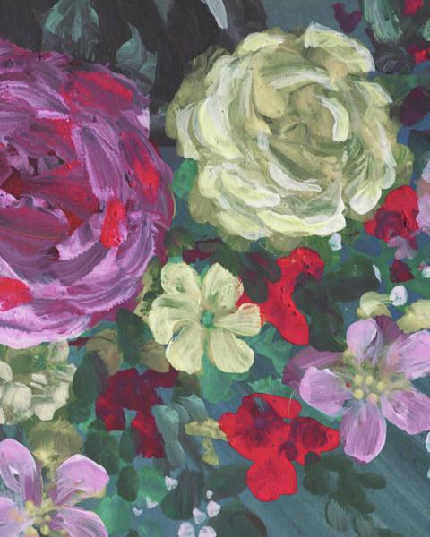 Wall Art - Painting - Floral Impressionistic Pattern by Irina Sztukowski