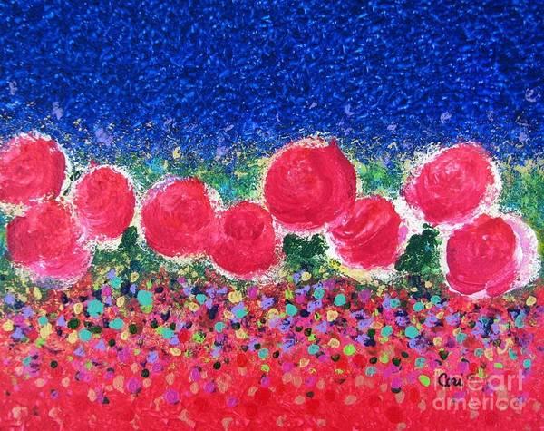 Floral Kaleidoscope Art Print