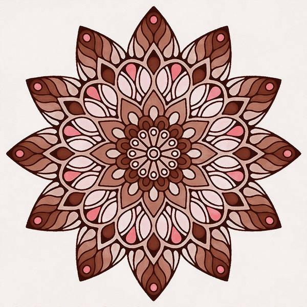 Painting - Floral Mandala - 07 by Andrea Mazzocchetti