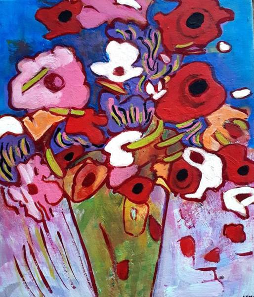 Painting - Floral by Nikki Dalton