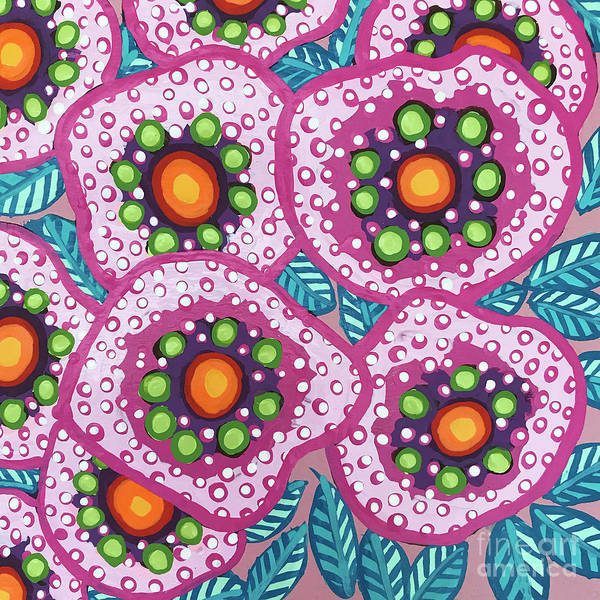 Painting - Floral Whimsy 10 by Amy E Fraser