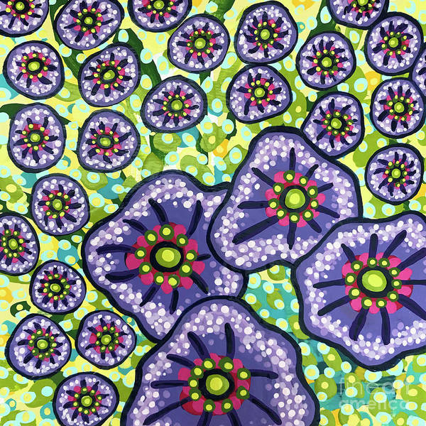 Painting - Floral Whimsy 4 by Amy E Fraser