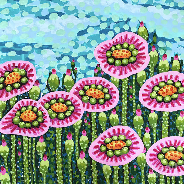 Painting - Floral Whimsy 8 by Amy E Fraser