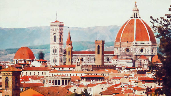 Painting - Florence - 22  by Andrea Mazzocchetti