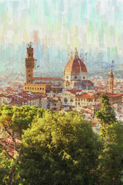 Painting - Florence - 25 by Andrea Mazzocchetti