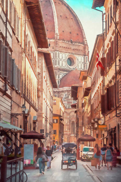 Painting - Florence - 27 by Andrea Mazzocchetti