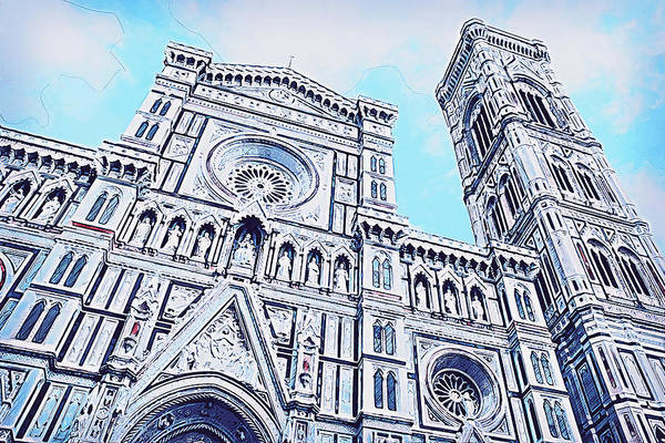 Painting - Florence - 31 by Andrea Mazzocchetti