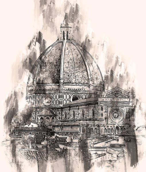 Painting - Florence - 41 by Andrea Mazzocchetti