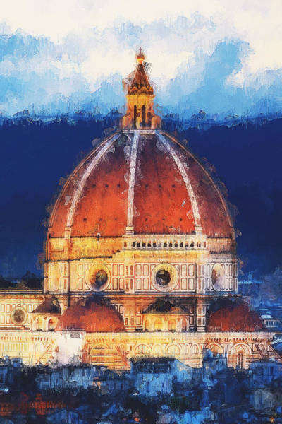Painting - Florence - 42  by Andrea Mazzocchetti