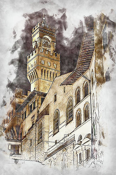 Painting - Florence - 43 by Andrea Mazzocchetti