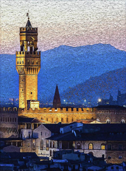 Painting - Florence - 45 by Andrea Mazzocchetti