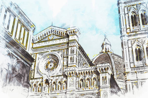 Painting - Florence - 46 by Andrea Mazzocchetti