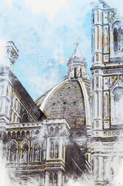 Painting - Florence - 47 by Andrea Mazzocchetti