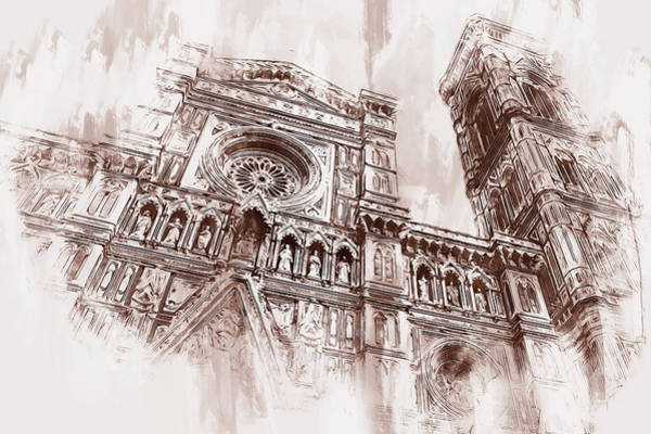 Painting - Florence - 50 by Andrea Mazzocchetti