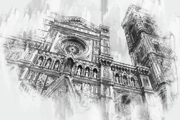 Painting - Florence - 51 by Andrea Mazzocchetti
