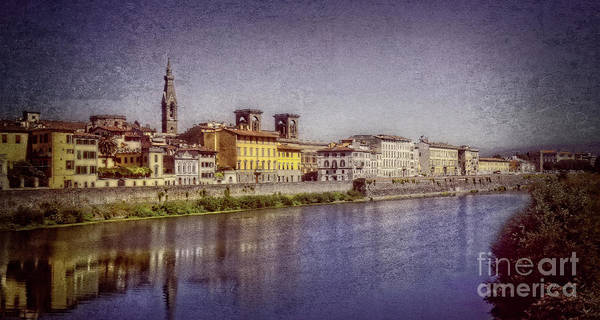 Photograph - Florence At Twilight  by Mary Machare