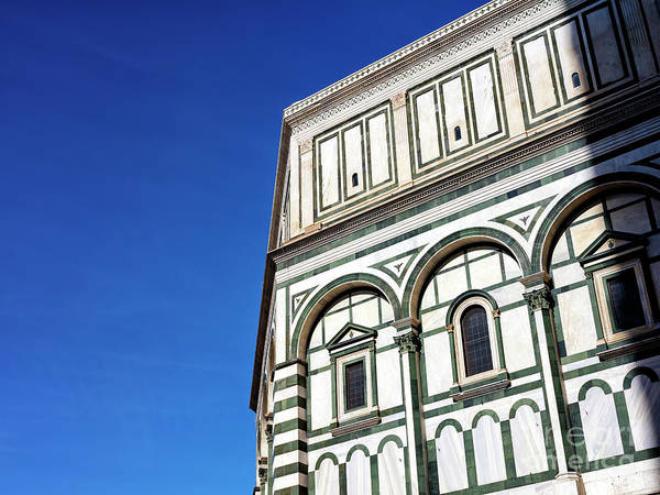 Photograph - Florence Baptistery by John Rizzuto