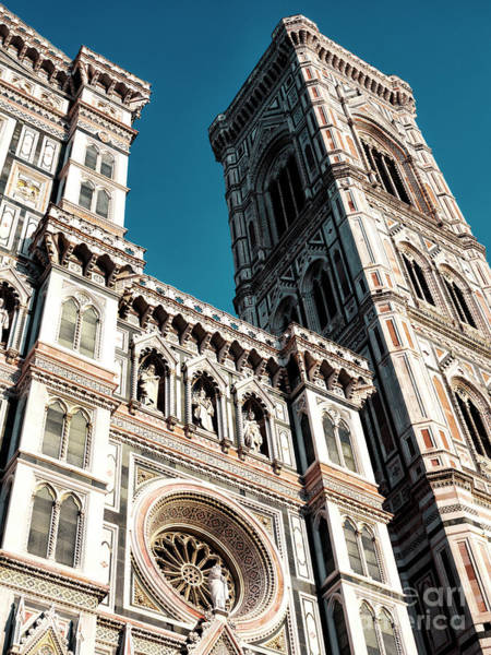 Photograph - Florence Cathedral Angles by John Rizzuto