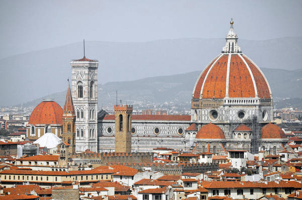 Duomo Photograph - Florence Cathedral by David Crespo