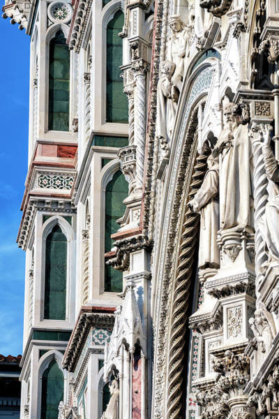 Photograph - Florence Cathedral Lines by John Rizzuto