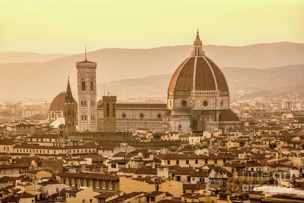Wall Art - Photograph - Florence Duomo by Delphimages Photo Creations
