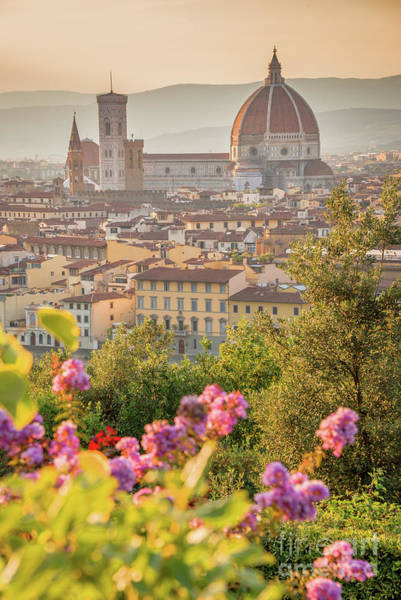 Wall Art - Photograph - Florence Duomo Vertical by Delphimages Photo Creations