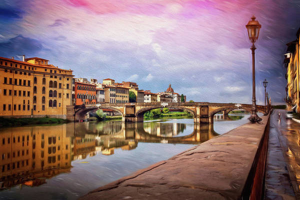 Holy Trinity Photograph - Florence Italy After The Rain  by Carol Japp