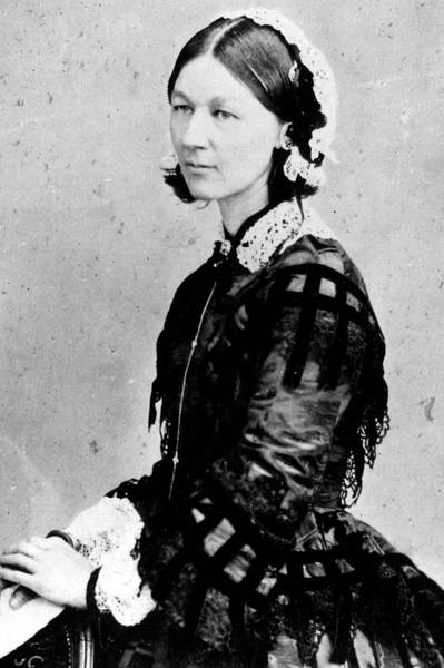 Heroine Photograph - Florence Nightingale by March Of Time