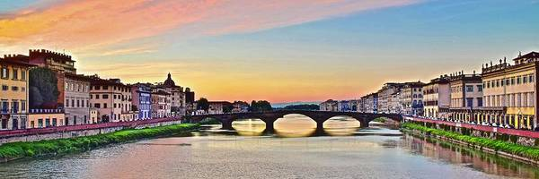 Wall Art - Photograph - Florence Sundown  by Frozen in Time Fine Art Photography