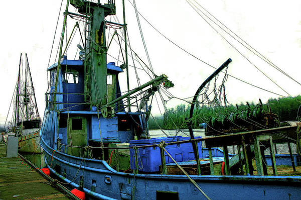 Wall Art - Photograph - Florence Workboats by Mike Flynn