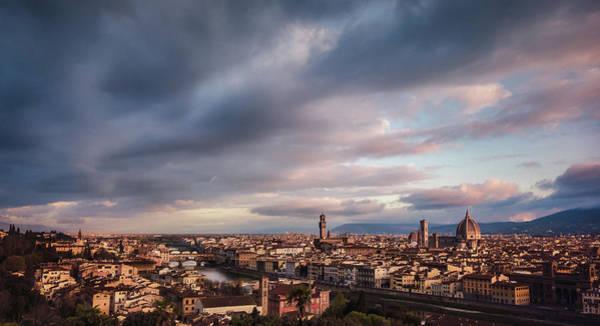 Photograph - Florentine Morning by Suleyman Derekoy