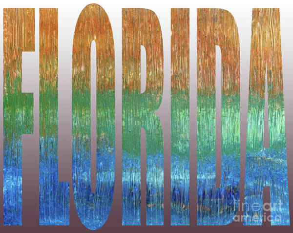 Digital Art - Florida by Corinne Carroll