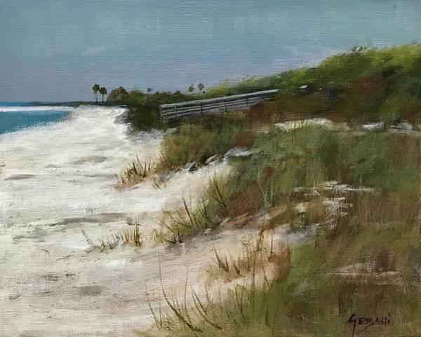 Florida Gulf Coast Art Print