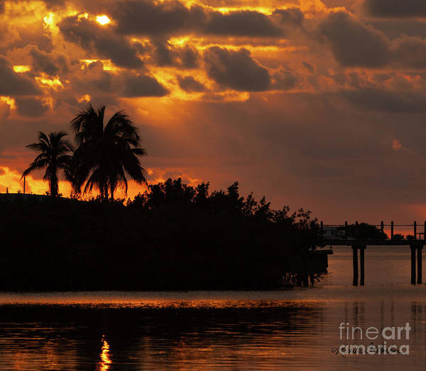 Photograph - Florida Keys Sunset by Michelle Constantine
