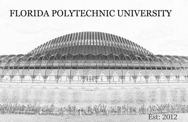 Wall Art - Digital Art - Florida Polytechnic University Work B by David Lee Thompson