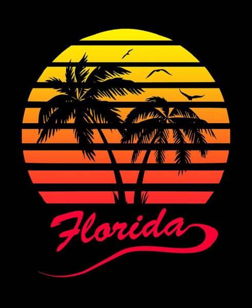 Wall Art - Digital Art - Florida Sunset by Filip Hellman