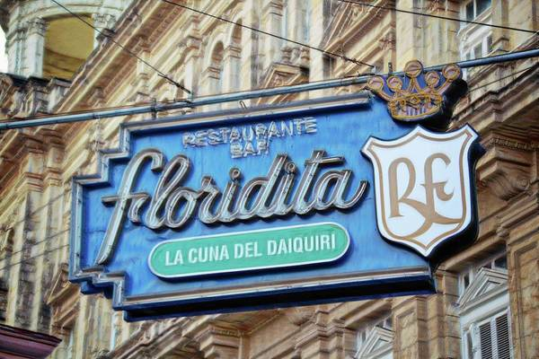 Wall Art - Photograph - Floridita Restaurante And Bar by Toni Abdnour
