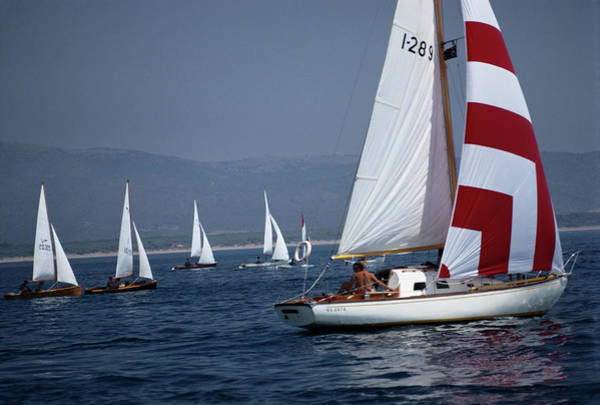 Photograph - Flotilla by Slim Aarons