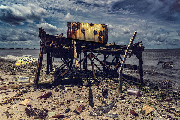 Photograph - Flotsam And Jetsam At Dead Horse Bay by Chris Lord