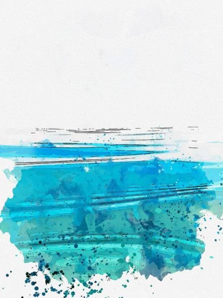 Painting - Flow Watercolor By Ahmet Asar by Ahmet Asar